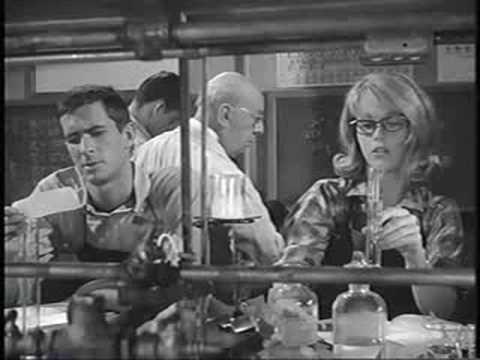Jane Fonda Anthony Perkins Tall Story Chemistry Class