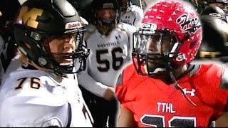 Cedar Hill vs Mansfield : Texas 6A Division II playoff 2016 - UTR Highlight Mix