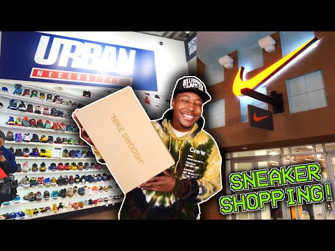 SNEAKER SHOPPING AT THE OUTLETS & URBAN NECESSITIES! MAJOR HEAT PICKUP & MORE! LAS VEGAS VLOG!
