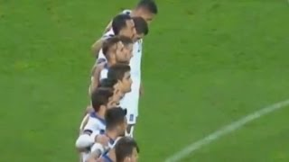 Turkish soccer fans boo moment of silence for Paris attacks victims