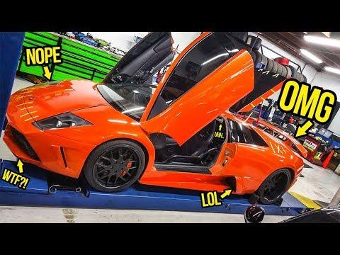 My Cheap Fast & Furious Lamborghini Was Hiding Some WEIRD Secrets