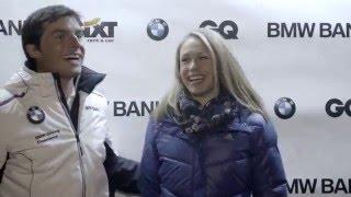 Action pur in Eis und Schnee: die BMW Bank Winter Challenge 2016.