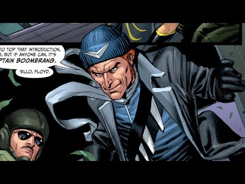 Supervillain Origins: Captain Boomerang