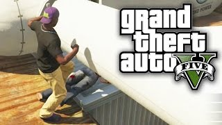 GTA 5 Online - WINDMILL OF DEATH! (GTA V Online)