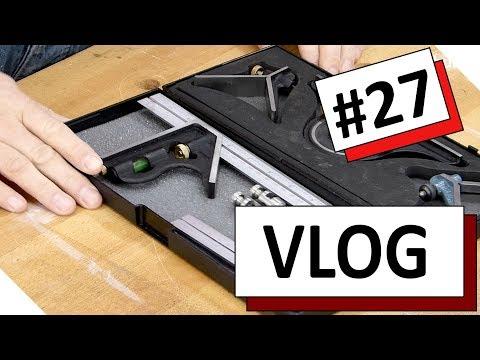 VLOG #27 - Messen und Anreißen in der Holzwerkstatt