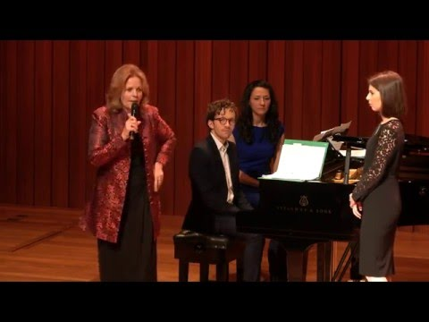 Guildhall Masterclass: Renée Fleming Vocal Masterclass - Margo Arsane