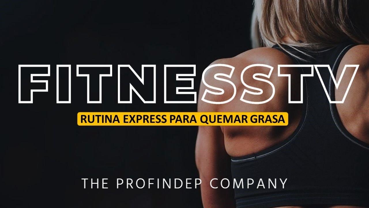 RUTINA CASERA EXPRESS PARA QUEMAR GRASA EN 5 MIN