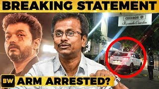 BREAKING: What Happened at AR Murugadoss Residence? #SarkarControversy