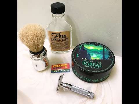 RazoRock Game Changer and Tallow and Steel Boreal!