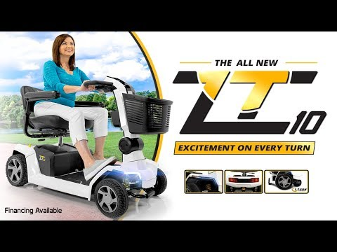 ZT10 Mobility Scooter | ALL NEW | Lifestyle | Pride Scooters | Top Mobility