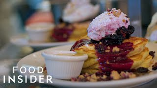 Recreating New York's Best Pancakes With Clinton St. Baking Company Chef Neil Kleinberg