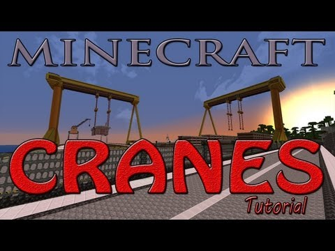 Minecraft Crane Tutorial