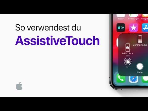 So verwendest du AssistiveTouch auf deinem iPhone– Apple Support