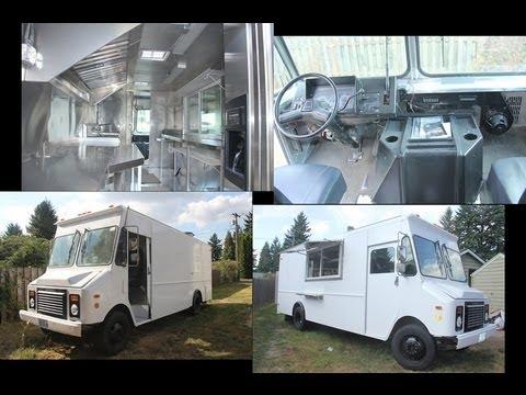 food truck for sale portland youtube. Black Bedroom Furniture Sets. Home Design Ideas