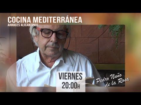 Programa Cocina Mediterránea en 12tv