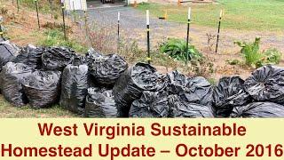 West Virginia Sustainable Homestead Update – October 2016
