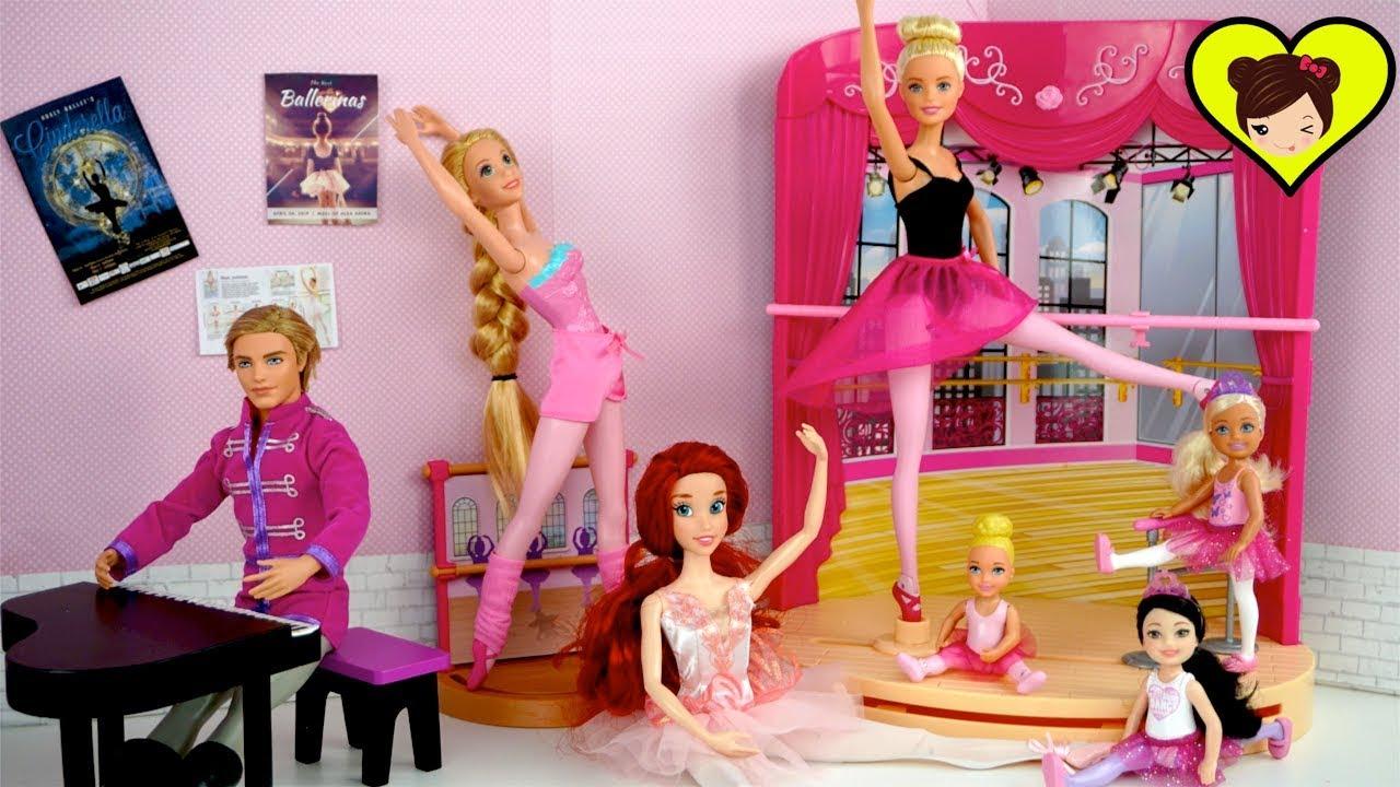 Barbie Chelsea Toma Su Primera Clase de Ballet  Los