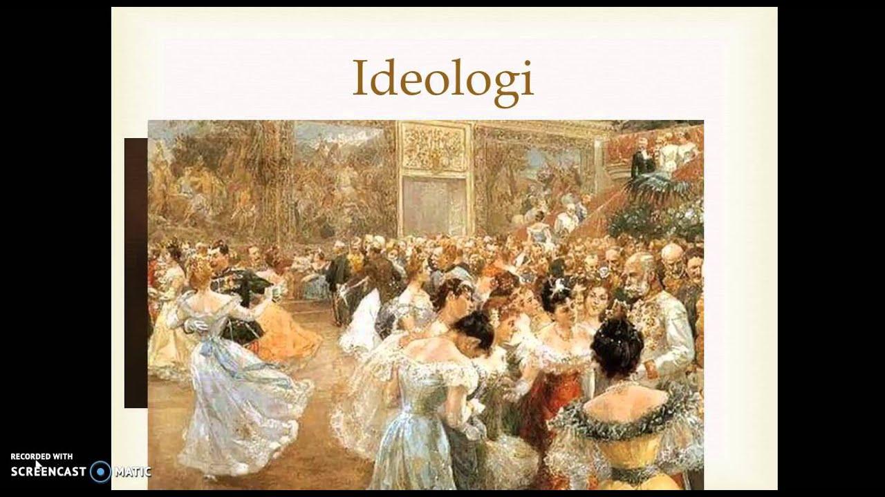Industrialismen: politiska ideologier