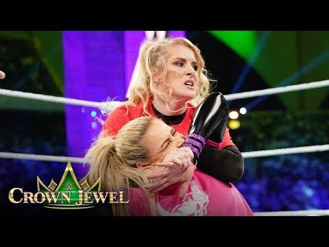 Natalya and Lacey Evans make history in Saudi Arabia: WWE Crown Jewel 2019 (WWE Network Exclusive)