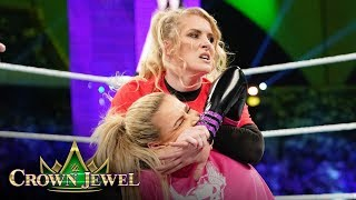 Natalya and Lacey Evans make history in Saudi Arabia: WWE Crown Jewel 2019 (WWE Network Exclusive)