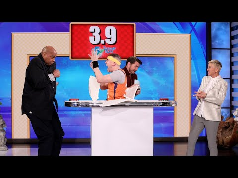 Charles Barkley Gets Scared During '5 Second Rule'