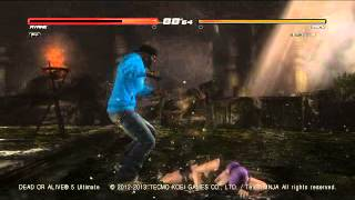 DOA5U Zack Violates Ayane for Taunting