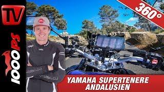 360 Grad - Yamaha Supertenere Andalusien - Ronda - Onboard Virtual Reality