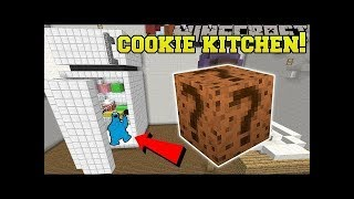 PopularMMOs Pat and Jen Minecraft: COOKIE KITCHEN HUNGER GAMES - Lucky Block Mod - Mini-Game