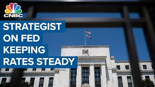 Morgan Stanley's Mike Wilson reacts to Fed decision to keep rates steady