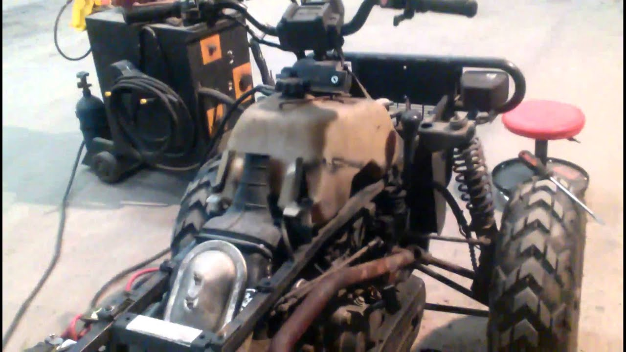 restoring 1995 polaris magnum 425 4x4 [ 1280 x 720 Pixel ]