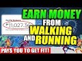 Earn FREE 1,000 USD just by WALKING/RUNNING!