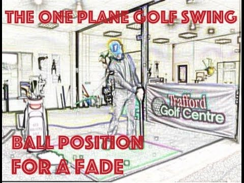 The One Plane Golf Swing – Ball Position For A Fade