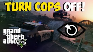 "GTA 5 Glitches: Turn Cops Off Forever! Unlimited ""Cops Turn Blind Eye"" Glitch ""GTA 5 Glitches"""