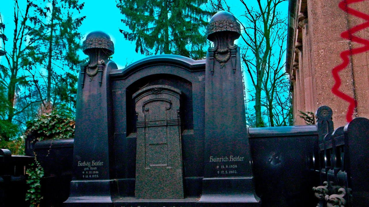 Berlin Gothic Berlin Abandoned Forgotten Historic Christian Cemetery Gothic And Magical Now Destroyed