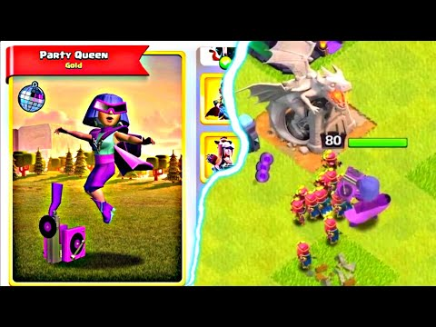 Introducing PARTY QUEEN👑💃….Clash of Clans!!!