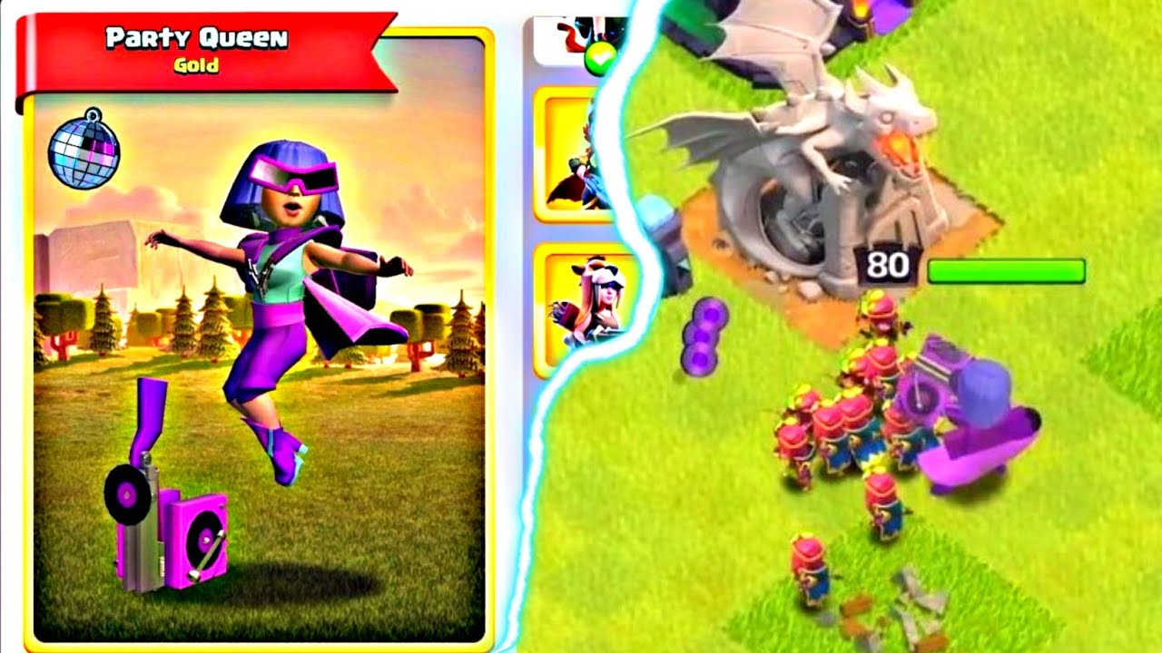 Introducing PARTY QUEEN👑💃....Clash of Clans!!!