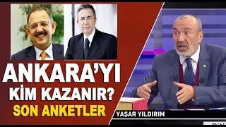 31 Mart yerel seçimlerinde Ankara'da son durum! Mehmet Özhaseki mi, Mansur Yavaş mı?