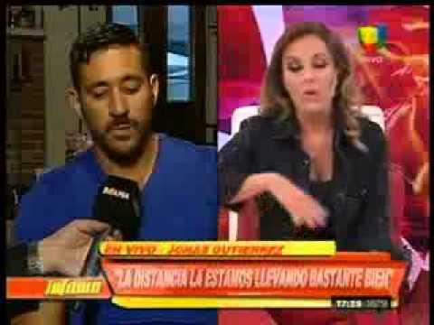 Jonás Gutiérrez: Con Alejandra nos vamos a casar pero aún no sabemos la fecha