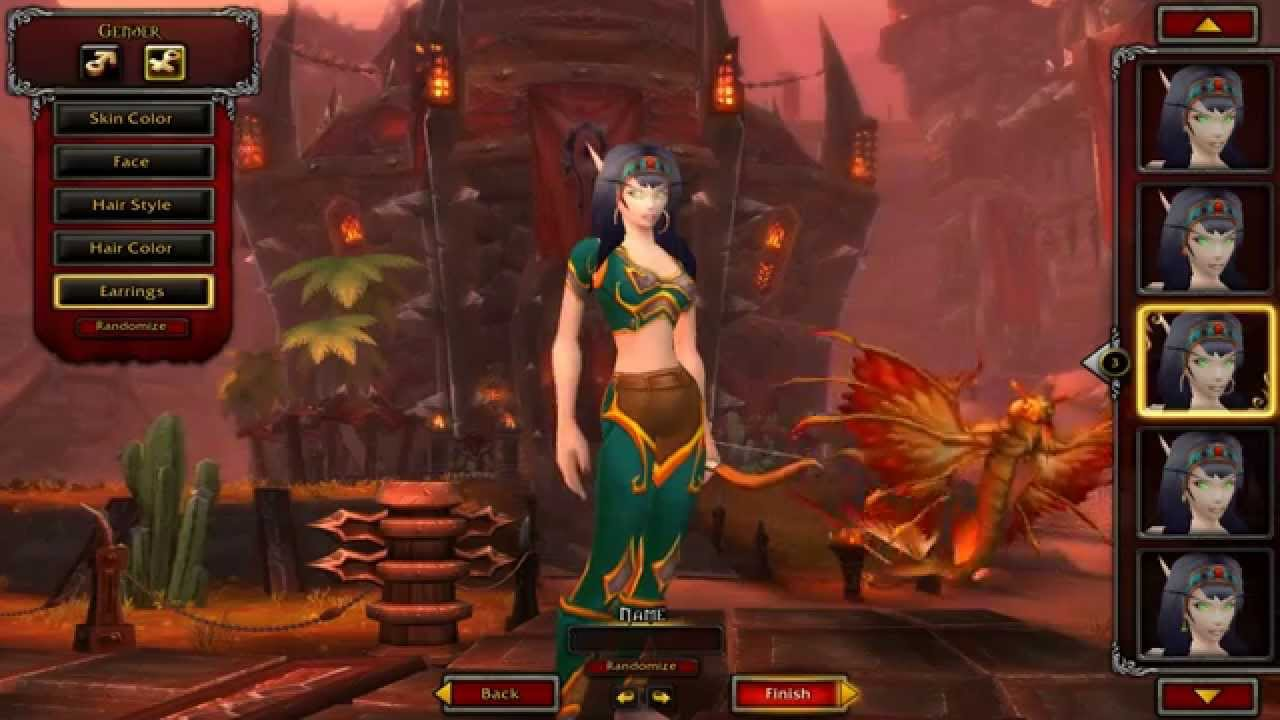 World Of Warcraft Warlords Of Draenor Beta New Female Blood Elf