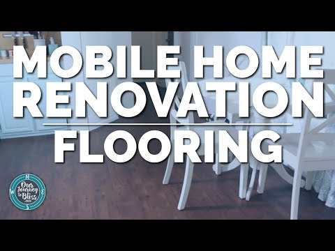 MOBILE HOME RENOVATION | Our Flooring
