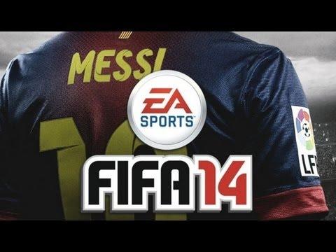 Fifa 14 - Barcelona Vs AC Milan - Gameplay Walkthrough - DEMO