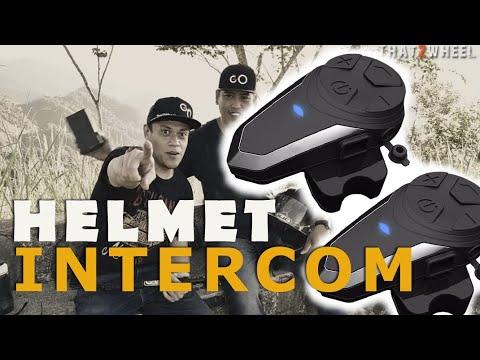 Usapan Ng Dalawang Helmet   Helmet Intercom   Helmet Bluetooth