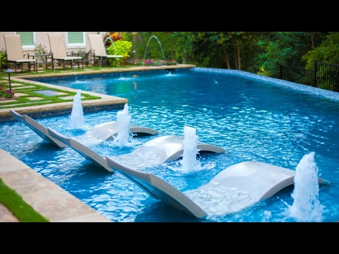 25+ Fabulous Pool Fountains