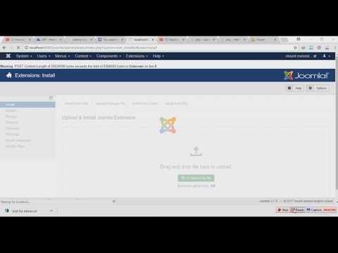 How To Fix Joomla Extensions Installation Size Limit Problem
