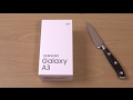 Samsung Galaxy A3 2017 - Unboxing!