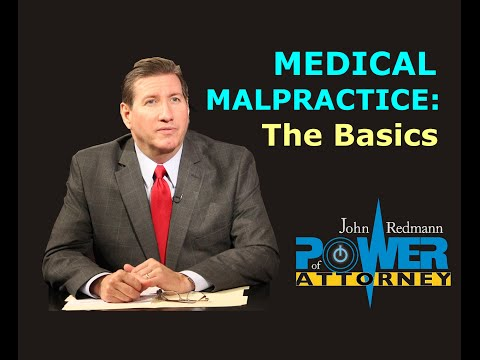 The Basics of Medical Malpractice