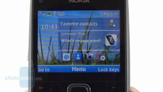 Nokia X2 for T-Mobile Review(PhoneArena reviews the Nokia X2 for T-Mobile USA. Nokia aims to appease those who don't quite have an unlimited disposable income with their messaging ..., 2011-03-09T13:51:52.000Z)