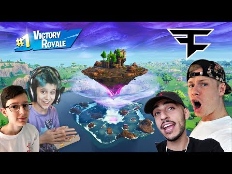 FaZe vs YOUNGEST Fortnite PROS! [THEY'RE 14]