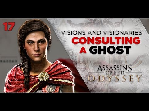 Assassins Creed Odyssey Gameplay | VISIONS and VISIONARIES - Consulting a Ghost [17] 1