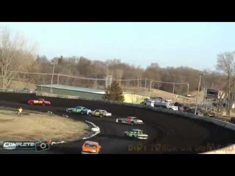 Algona Raceway Frost Buster Hobby Stock Feature 04-05-14